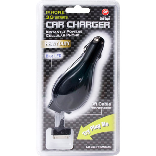 Link Depot iPhone 3G Car Charger