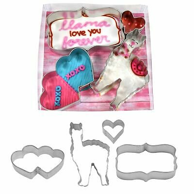 I Love You Llama Cookie Cutter Set - 2013 - National Cake Supply