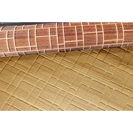 Embossed Rolling Pin, Mondrian Type Pattern, Multi-Purpose Engraving Eco-Friendly Naturally Made Baking Accessory Tool For Pastries and Arts - image 5 of 7