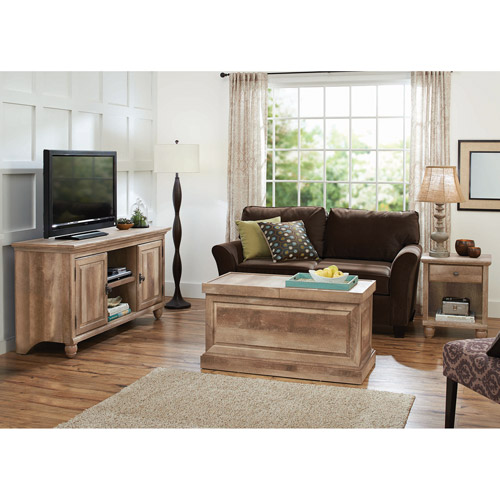 Better Homes and Gardens Crossmill Living Room Set, Lintel Oak