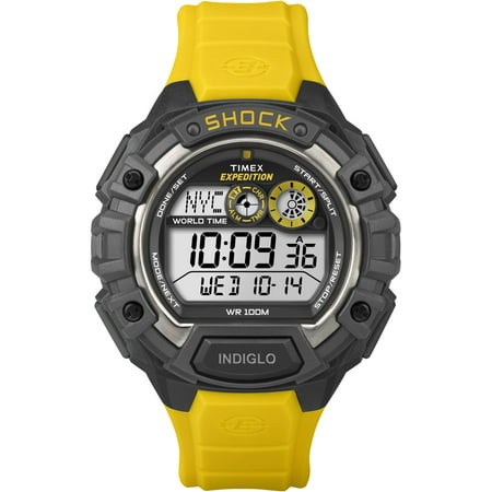 Expedition World Shock Alarm Chronograph Rubber Mens Watch (Best Chronograph Under 500)