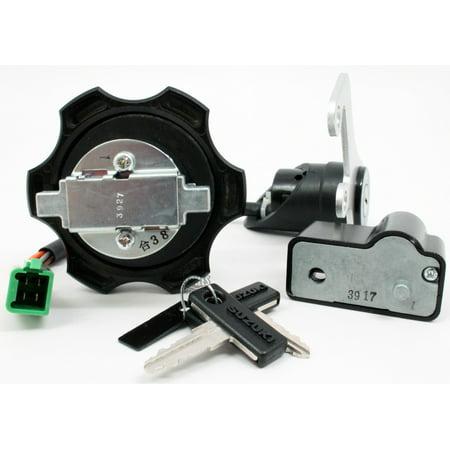 Suzuki DRZ400 DR-Z 400 Lock Set Gas Cap Ignition Switch