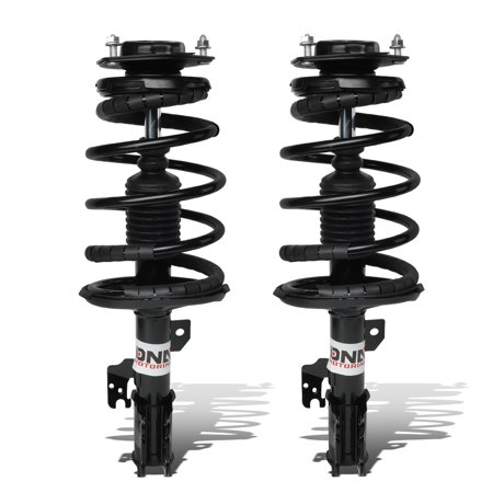 Front Right Springs - For 2002 to 2003 Camry XV30 Left / Right Front Fully Assembled Shock / Strut + Coil Spring Suspension