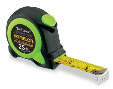 Komelon 25ft Self Lock (Inch Engineer) Tape Measure by Komelon