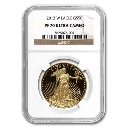 Platinum Ngc Coin Set - 2012-W 1 oz Proof Gold American Eagle PF-70 NGC