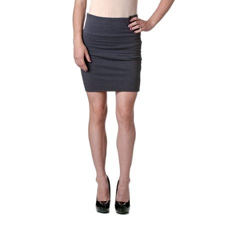 Active Basic Women's Cotton Pencil Skirt