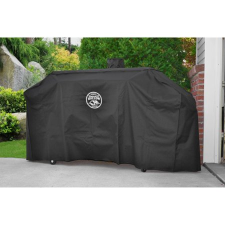 Smoke Hollow Heavy Duty Water Resistant UV Protected Canvas Grill Cover ()