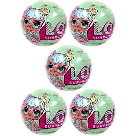 Lol Surprise Lil Outrageous Littles Series 2 Lets Be Friends  Lot Of 5 Mystery Packs