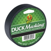 Duck Brand .94 in x 20 yd Black Colored Masking Tape
