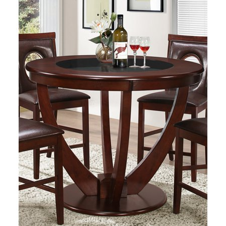 Best Master Furniture Jackson 48 in. Round Counter Height Dining Table