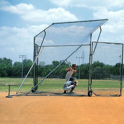 Baseball Replacement Net for Sandlot Portable Backstop - Wings 9' x 6'