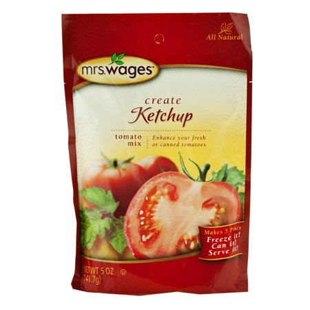 Mrs. Wages Ketchup Mix 5 oz. (6 Packets)](Ketchup Packets For Halloween)