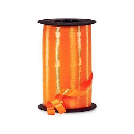 - 6 Unit Tropical Orange Curling Ribbon 3/8