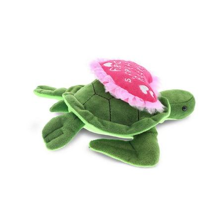 Dollibu Happy Mothers Day Stuffed Animal, Mom Heart Message Teddy - Sea