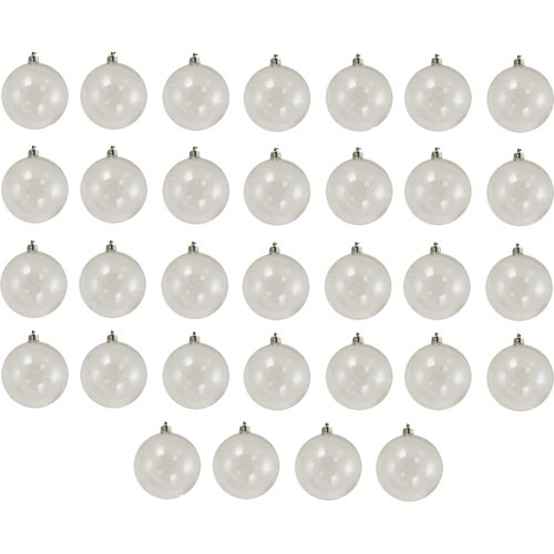 Northlight Seasonal Shatterproof Christmas Ball Ornament (Set of 32)