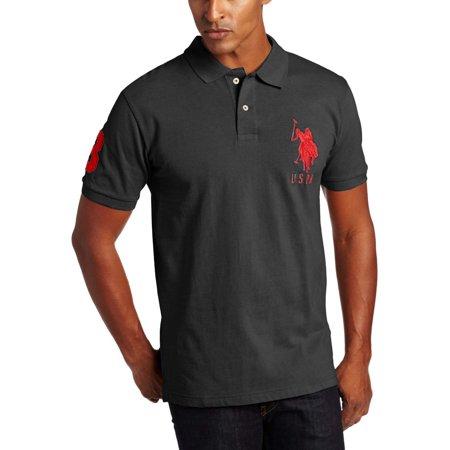 U s polo assn men 39 s big tall big pony polo shirt for Big size polo shirts