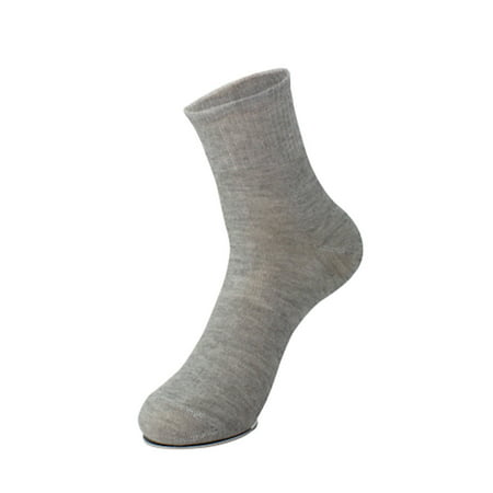 5 Pair Travel Business Gray One Size Portable Disposable Replacing Foot Socks for Men - image 4 of 4