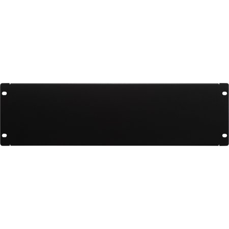 19 Inch 3u Rackmount - Navepoint 3U Blank Rack Mount Panel Spacer  For 19-Inch Server Network Rack Enclosure Or Cabinet Black