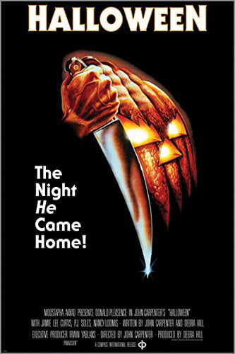 Halloween The Night He Came Home Vintage Movie Poster Horror 24X36 Knives by HSE