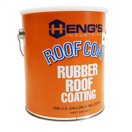 Heng's 46128-4 RV Rubber Roof Protective Coating - One