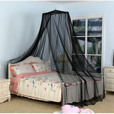 Mosquito net for bed twin queen to california king size - King size canopy bed with curtains ...