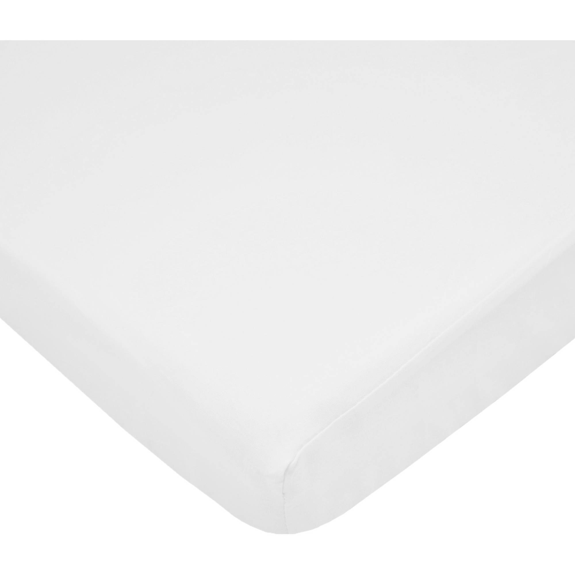 Soft Breathable for Boys and Girls White TL Care 100/% Natural Jersey Cotton 3 Piece Toddler Sheet Set