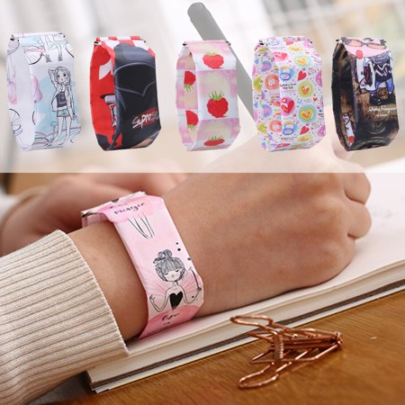Creative paper watch LED waterproof electronic watch Student Watch - image 2 of 6