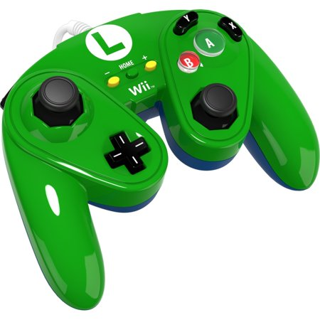 Pdp Wired Fight Pad For Wii U  Luigi