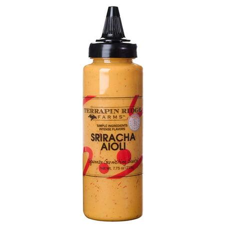 Terrapin Ridge Farms Sriracha Aioli Garnishing Squeeze 7.75 OZ (Pack of 1)