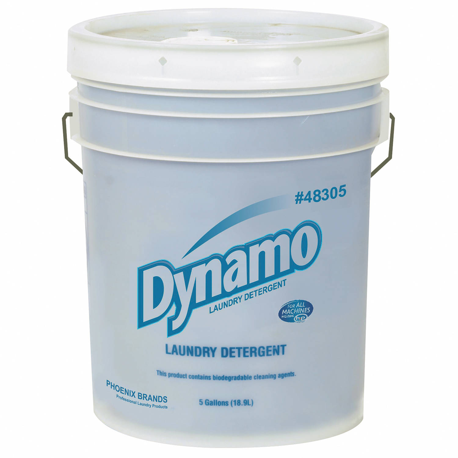 Dynamo Industrial-Strength Laundry Detergent, 5 gal