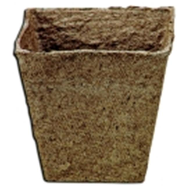 Delta Education Peat Pots - 2. 25 inch - Pack 60