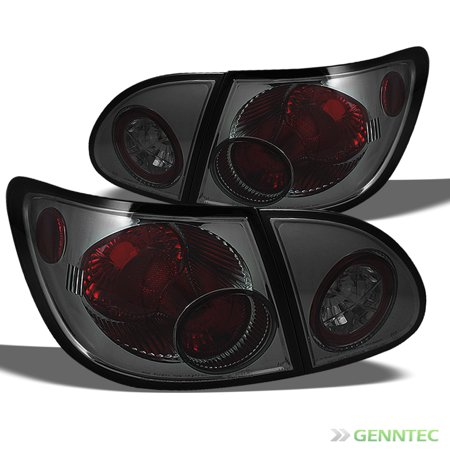 - Smoked 2003-2008 Toyota Corolla Altezza Tail Lights Rear Smoke Brake  Lamp Pair Left+Right 2004 2005 2006 2007
