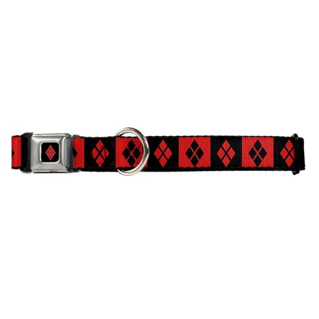 DC Comics Batman Harley Quinn Superman Pet Dog Collar - Easy On-Off Snap Buckle Dc 40 Dog Tracking