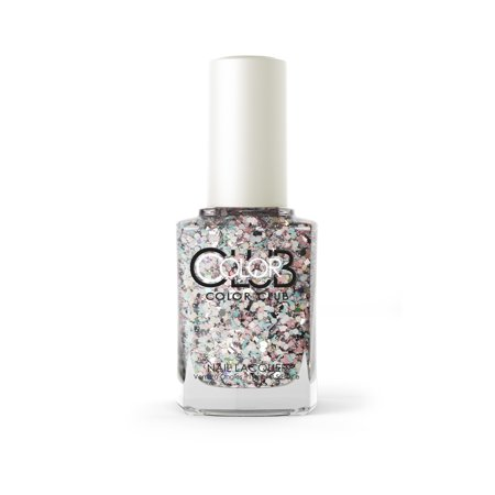 Color Club Glitter Nail Polish, Zodiac Attack](Halloween Glitter Nail Polish)