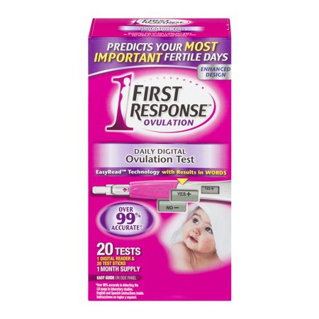 First Response Ovulation Daily Digital Ovulation Test - 20 CT20.0 CT