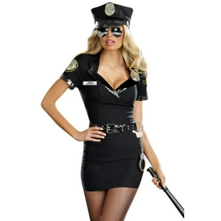 Women's Officer Anita Bribe Costume S - Officer Naughty Costume