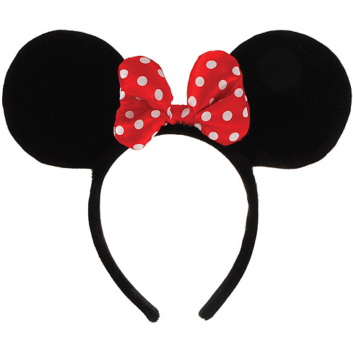 Minnie Mouse Ears Headband Halloween Accessory