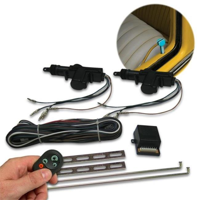 AutoLoc Power Accessories AUTVWCK Custom VW Power Door Lock Kit with Remotes - image 1 de 1