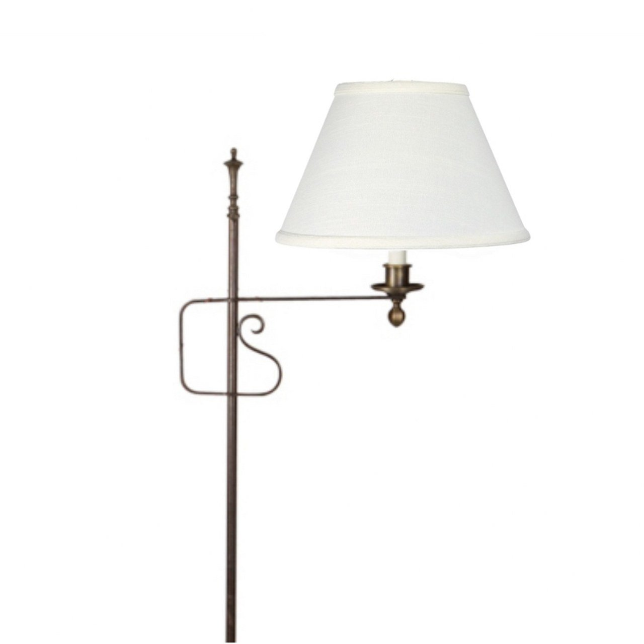 Off White Linen 8 Inch Floor Lamp Shade Replacement Walmart Com