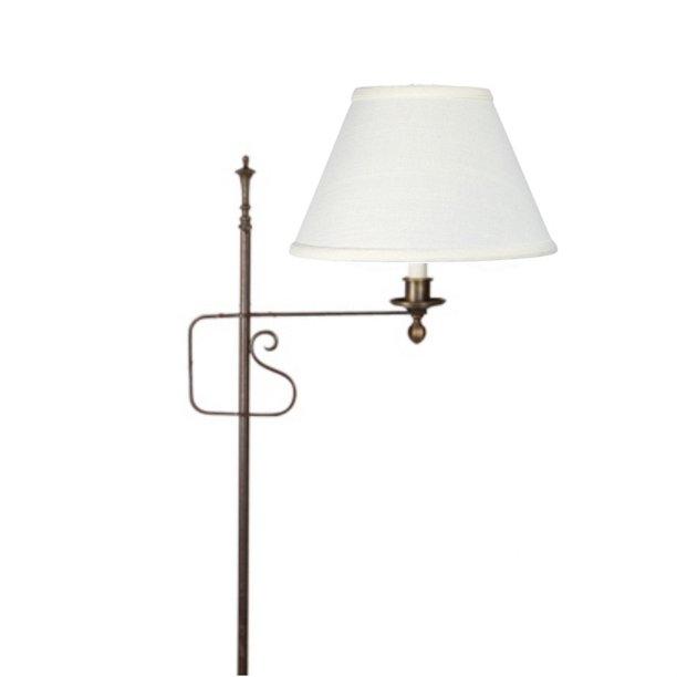 Off White Linen 8 Inch Floor Lamp Shade Replacement Walmart Com