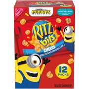 RITZ Bits Cheese Sandwich Crackers, 12 - 1 oz Packs