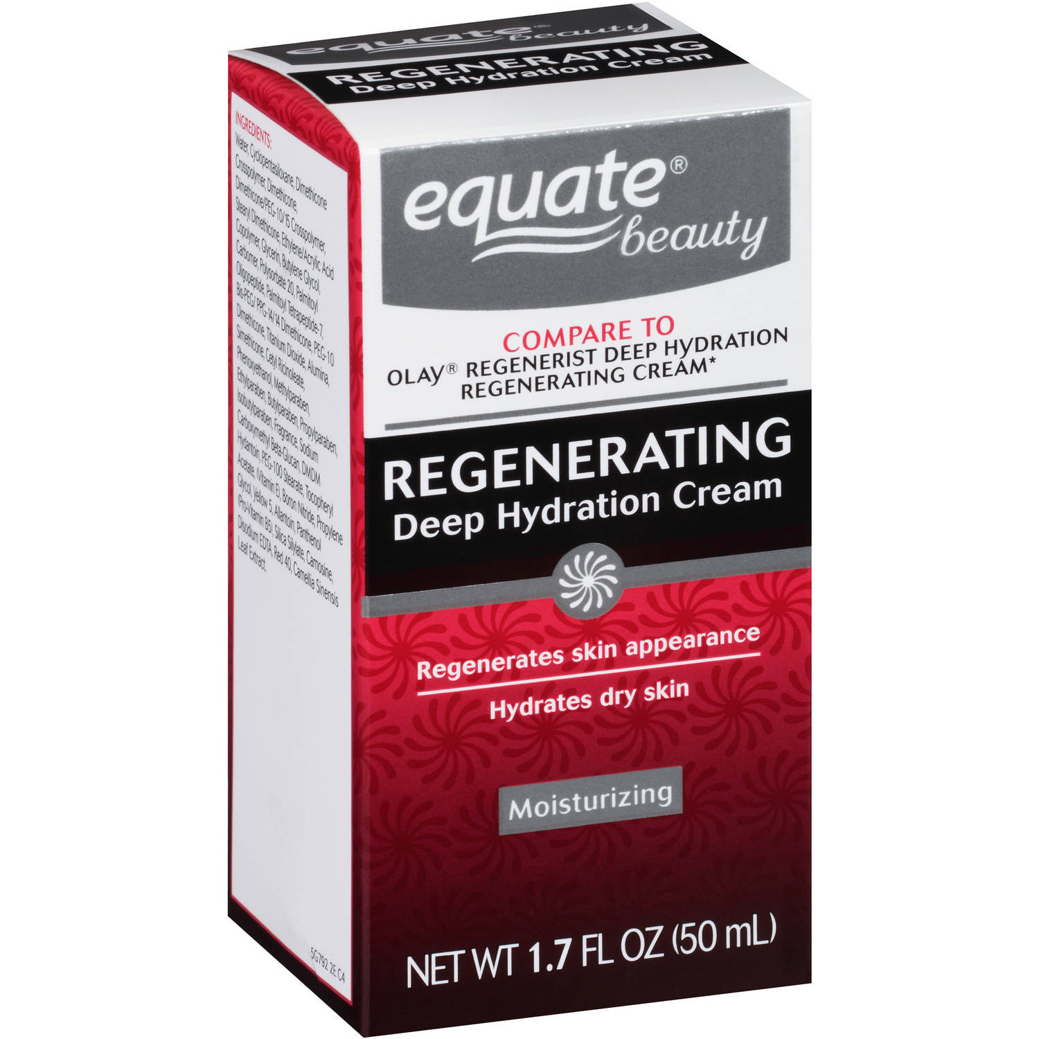Equate Regenerating Deep Hydration Cream, 1.7 oz