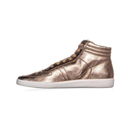 Dolce Vita Nate High Top Sneakers, Rose Gold Leather - image 1 de 6