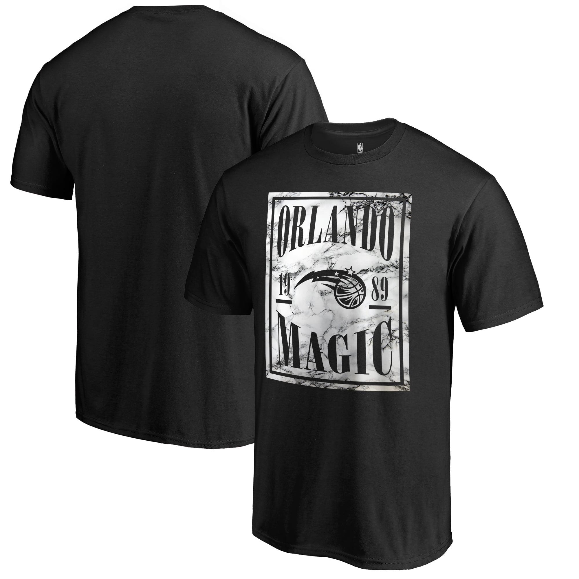 Fanatics Branded Orlando Magic Black Court Vision T-Shirt