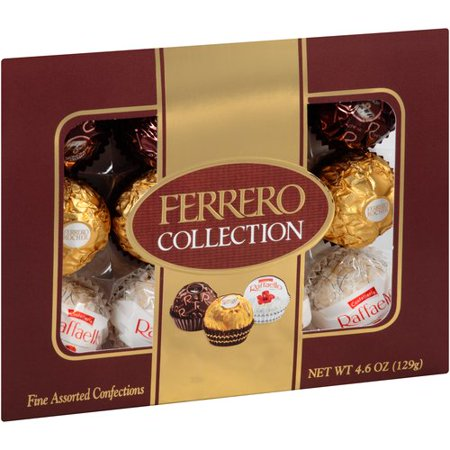 Ferrero Collection Fine Assorted Confections, 0.38 oz, 12 ct