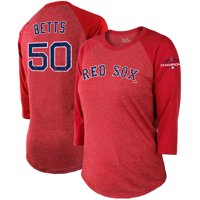 728e0b564e4 Product Image Mookie Betts Boston Red Sox Majestic Threads Women s 2018  World Series Champions Name   Number 3