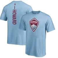 Tim Howard Colorado Rapids Fanatics Branded Youth MLS Backer T-Shirt - Blue
