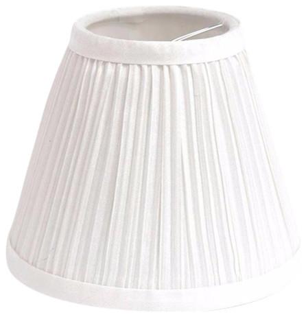 "Urbanest Chandelier Lamp Shade, 3x6x5"", Off White"