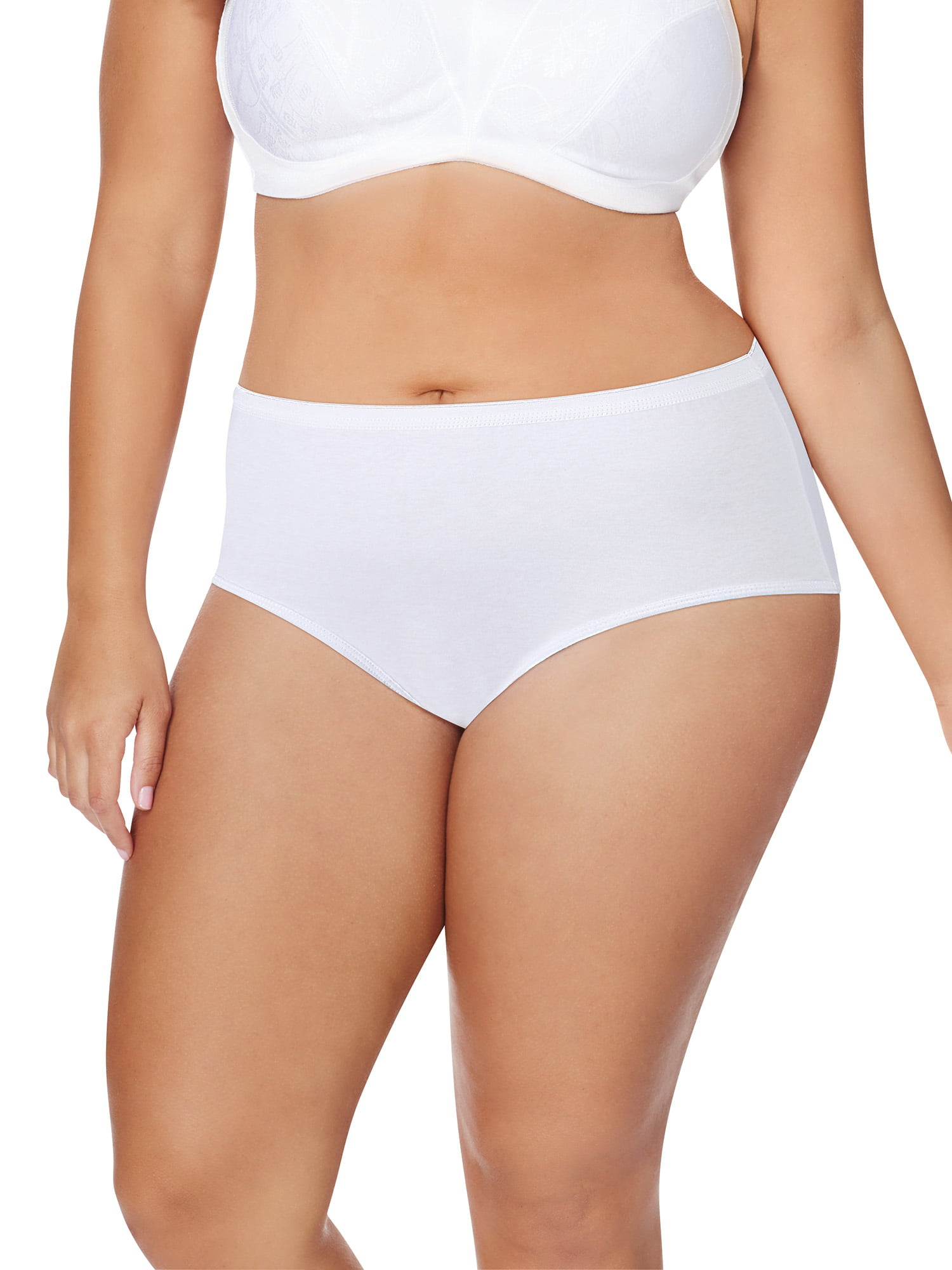 977f98ff29299 Just My Size - Women's 5 Pack Cotton Brief Assorted Color Panty -  Walmart.com