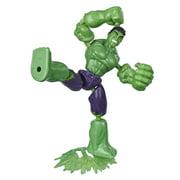 Marvel Avengers Bend And Flex Hulk, 6-Inch Action Figure, Blast Accessory